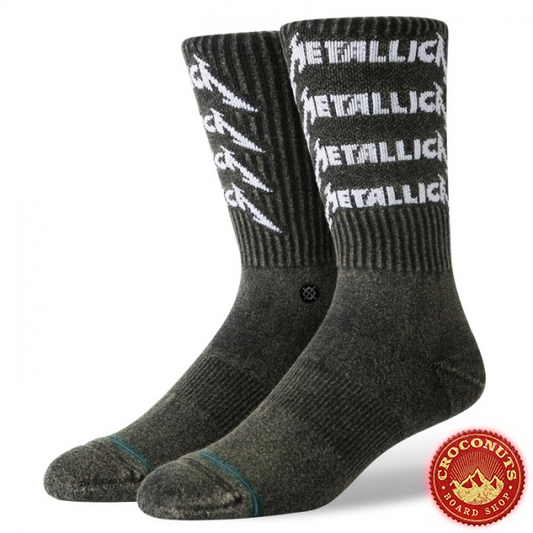 Chaussettes Stance Foundation Metallica Stack 2020