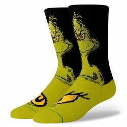 Chaussettes Stance Anthem The Grinch 2020 pour homme