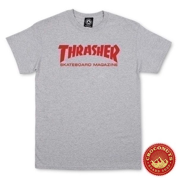Tee Shirt Thrasher Skate Mag Grey 2020