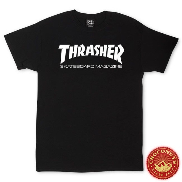 Tee Shirt Thrasher Skate Mag Black 2020