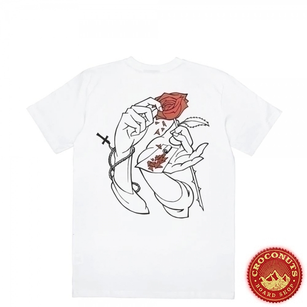Tee Shirt Jacker Holy Roses White 2020