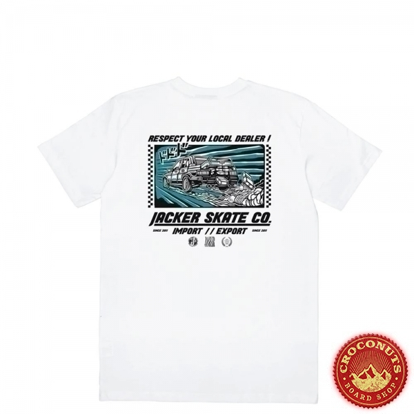 Tee Shirt Jacker Go Fast White 2020