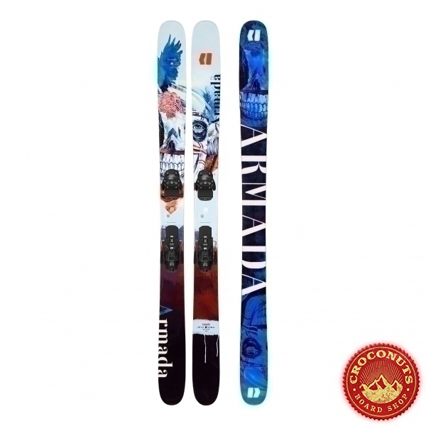 Ski Armada ARV 116 JJ + Fixations AR WArden 13 2020
