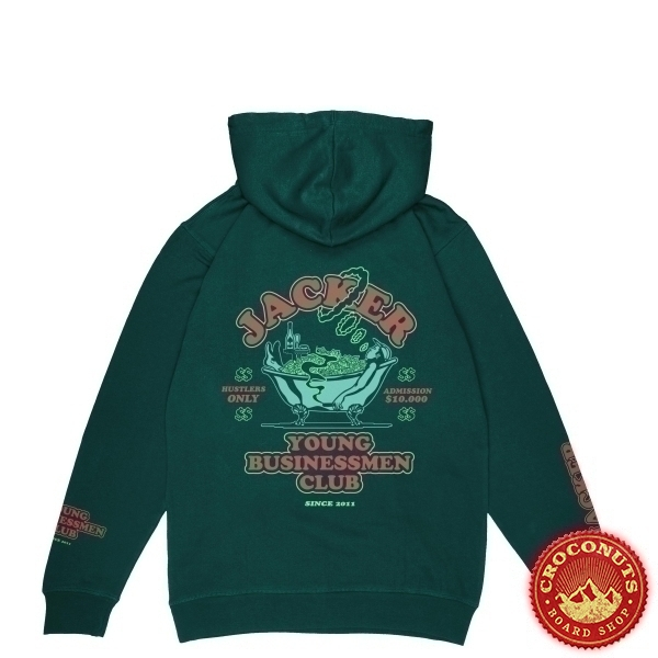 Sweat Jacker Business Club Dark Green 2020