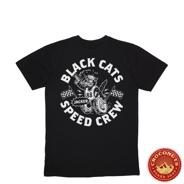 Tee Shirt Jacker Speed Cats Black 2020