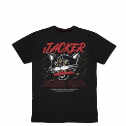 Tee shirt Jacker Savage Cats Black 2020 pour , pas cher
