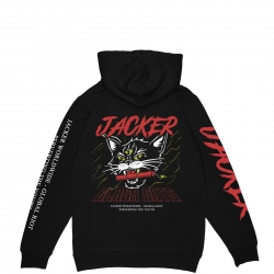 Sweat Jacker Savage Cats Black 2020 pour , pas cher