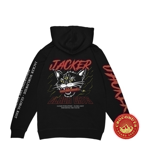 Sweat Jacker Savage Cats Black 2020