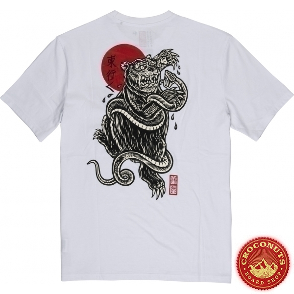 Tee Shirt Element Tradition White 2020