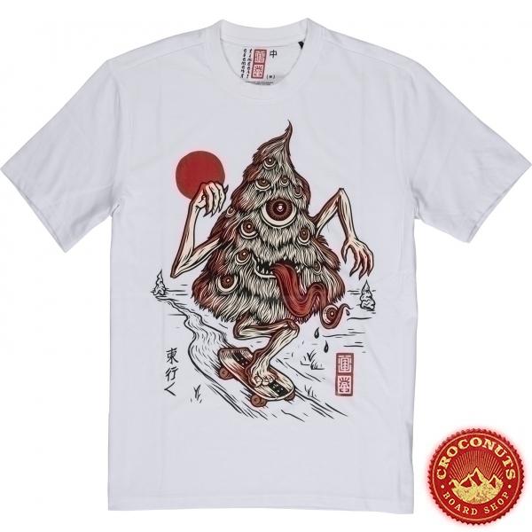 Tee Shirt Element Tree Ghost White 2020