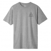 Tee Shirt Huf Essentials Triple Triangle Grey Heather 2020