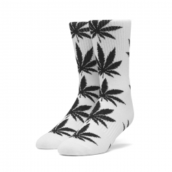 Chaussettes Huf Plantlife White 2020 pour