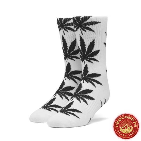 Chaussettes Huf Plantlife White 2020