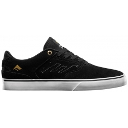 Shoes Emerica Reynolds Low Vulc Black White Gold 2020 pour