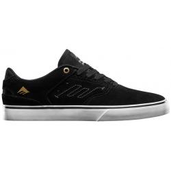 Shoes Emerica Reynolds Low Vulc Black White Gold 2020 pour , pas cher