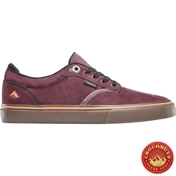 Shoes Emerica Dickson Burgundy Gum 2020