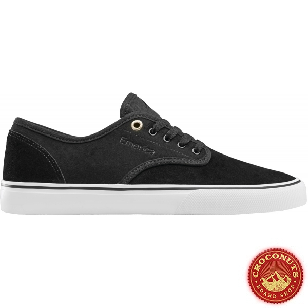 Shoes Emerica Wino Standard Black White Gold 2020