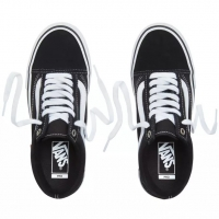 Shoes Vans Old Skool Pro Black White 2020
