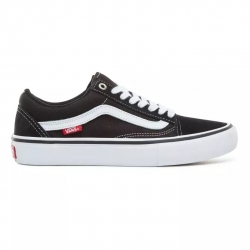 Shoes Vans Old Skool Pro Black White 2020 pour