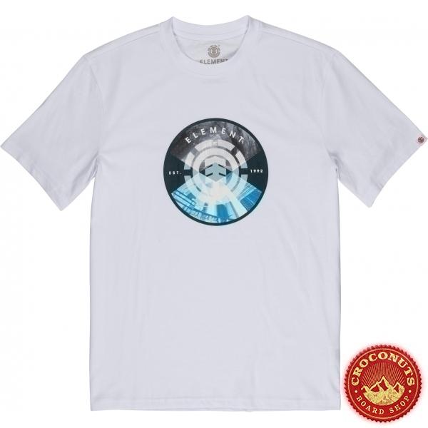 Tee Shirt Element Aiken Optic White 2020
