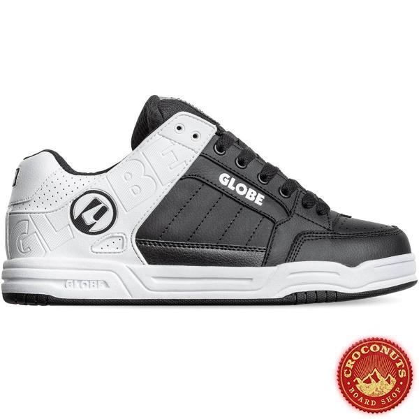 Shoes Globe Tilt Black White Split 2020