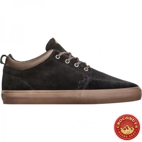 Shoes Globe GS Chukka Black Suede Tobacco 2019