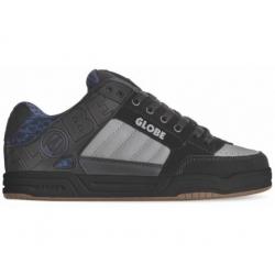 Shoes Globe Tilt Black Blue Knit Gum 2020 pour homme, pas cher