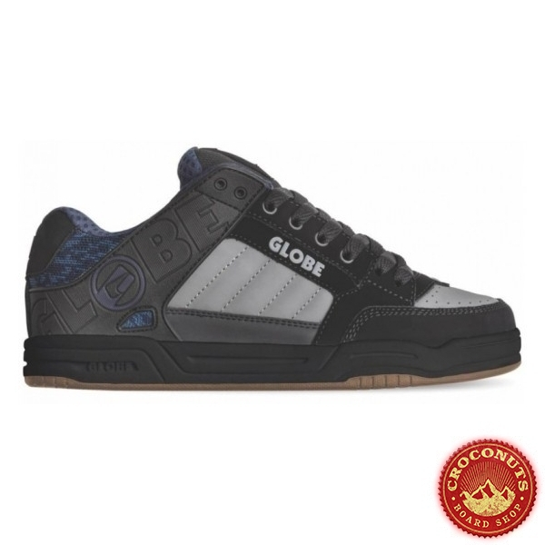 Shoes Globe Tilt Black Blue Knit Gum 2020