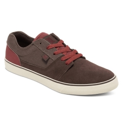 Shoes DC Shoes Tonik DK Chocolate Oxblood 2019 pour homme, pas cher