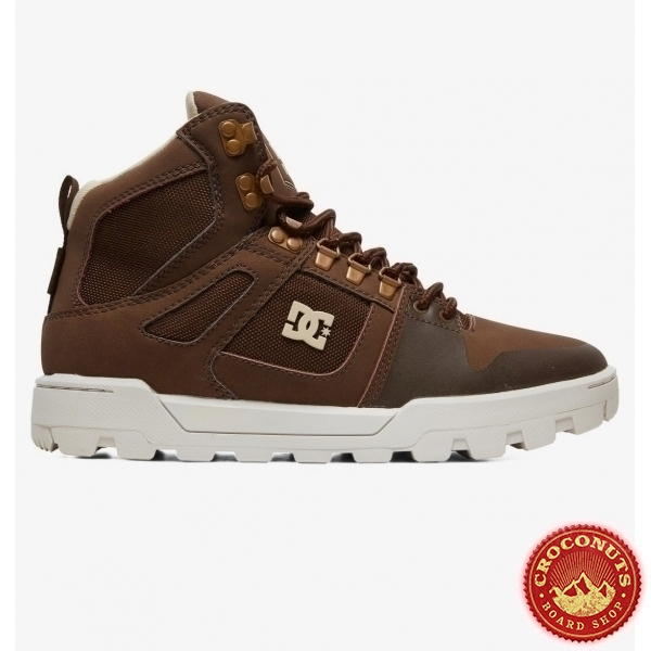 Shoes DC Shoes Pure High Top WR Boot Brown 2020