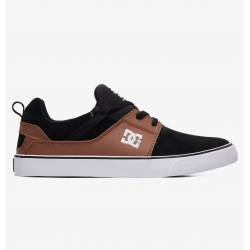 Shoes DC Shoes Heathrow Vulc Black Brown Black 2019 pour homme, pas cher
