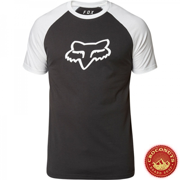 Tee Shirt Fox Blocked Premium Black White 2020