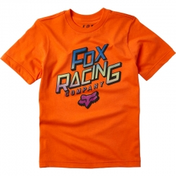 Tee Shirt Fox Youth Cruiser Orange Flame 2020 pour junior, pas cher