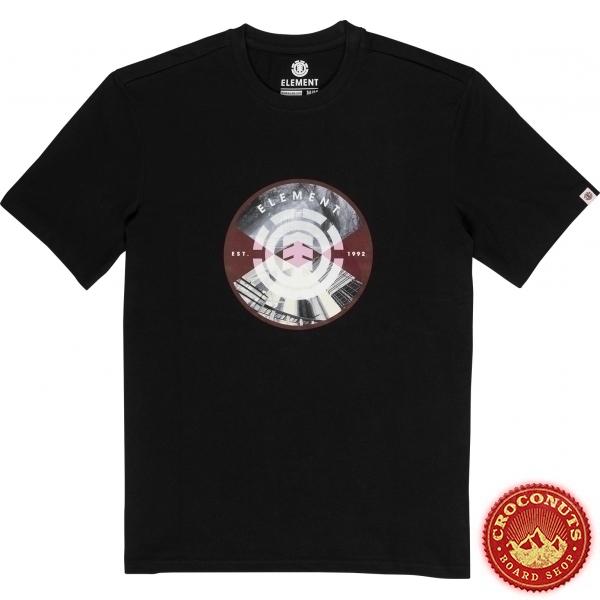 Tee Shirt Element Youth Aiken Black 2020