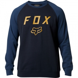 Sweat Fox Legacy Crew Fleece Light Indigo 2020 pour homme
