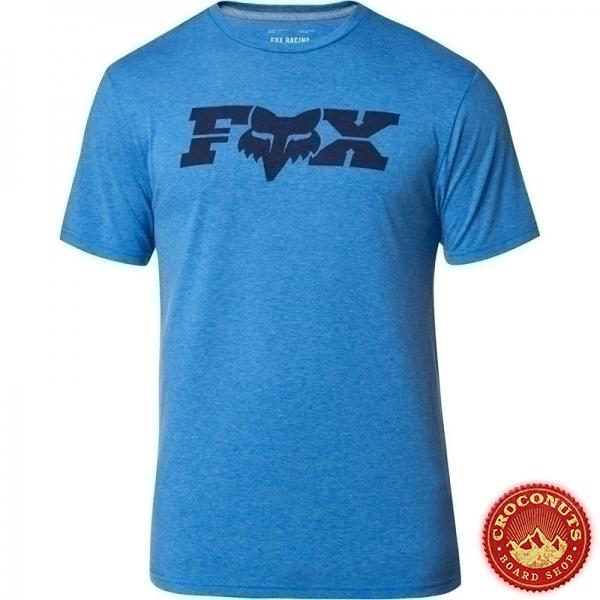 Tee Shirt Fox General Tech Heather Royal 2020