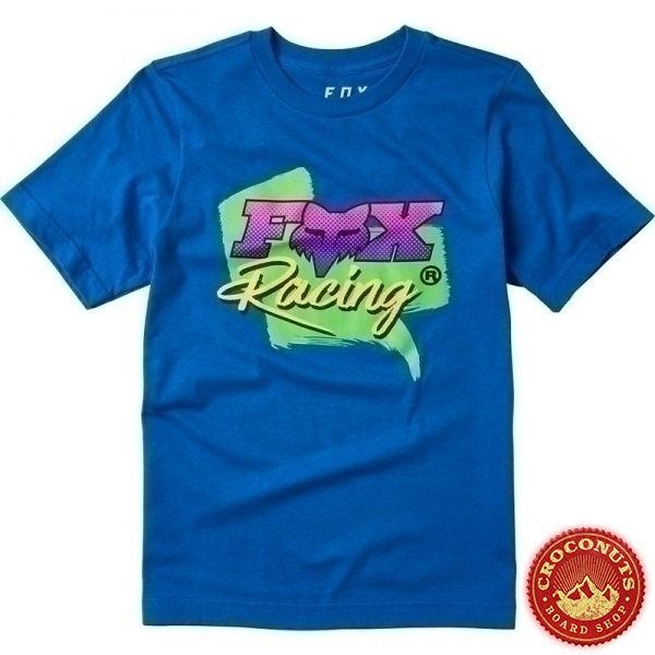Tee Shirt Fox Youth CastR Royal Blue 2020