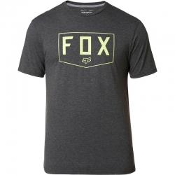 Tee Shirt Fox Shield Tech Heather Black 2020 pour homme, pas cher