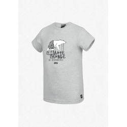 Tee Shirt Picture Nanuq Light Grey Melange 2020 pour homme