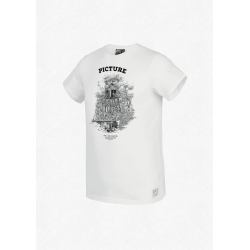 Tee Shirt Picture D&S Cabin White 2020 pour homme
