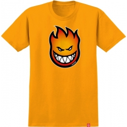 Tee Shirt Spitfire Bighead Fade Fill Gold Red To Orange 2020 pour homme, pas cher