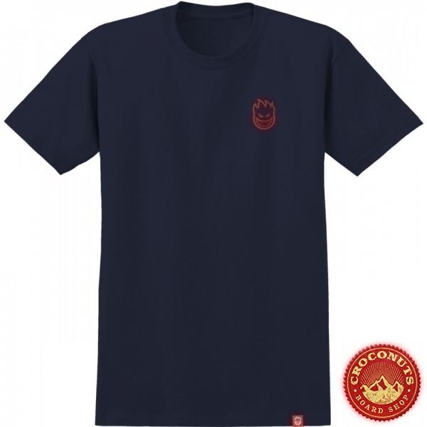 Tee Shirt Spitfire Lil Bighead Navy Red 2020