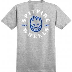 Tee Shirt Spitfire Bighead Classic Athletic Heather Blue 2020 pour homme, pas cher