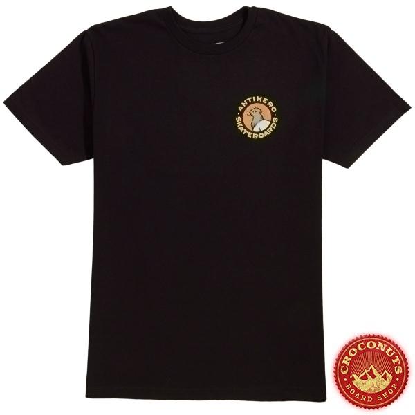 Tee Shirt Anti Hero Pigeon Round Black Multi 2020
