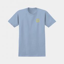 Tee Shirt Anti Hero Basic Pigeon Round Powder Blue Yellow 2020 pour homme
