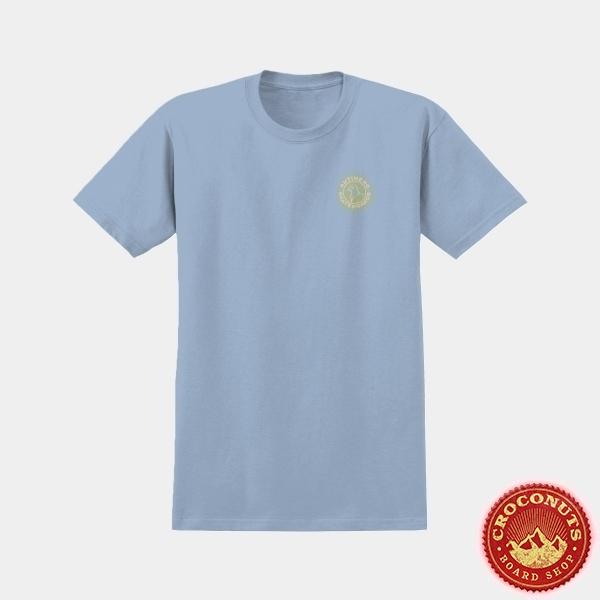 Tee Shirt Anti Hero Basic Pigeon Round Powder Blue Yellow 2020