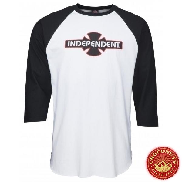 Tee Shirt Independent Custom Top O.G.B.C Black White 2020