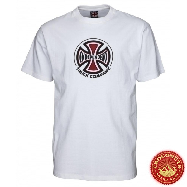 Tee Shirt Independent Truck Co White 2020