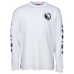 Tee Shirt Santa Cruz Ying Yang White 2020 pour homme