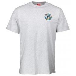 Tee Shirt Santa Cruz Primary Dot Athletic Heather 2020 pour homme
